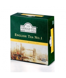 Čaj AHMAD TEA LONDON - English Tea No.I.  porcovaný 100 ks