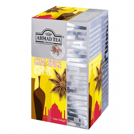 AHMAD TEA CONTEMPORARY Chai Spice 20 ks