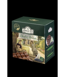 AHMAD TEA LONDON Chocolate Brownie 15 ks čajových pyramidek
