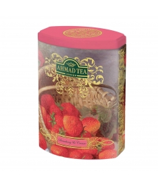 AHMAD TEA  Strawberry Cream  sypaný čaj 100g