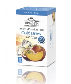 Ahmad Tea London Iced Tea Broskev s Passion Fruit 20 ks