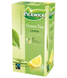 Čaj Pickwick Professional Green Tea Original Lemon porcovaný 25 ks á 2g