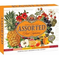BASILUR Fruit Infusions Assorted 60 čajů