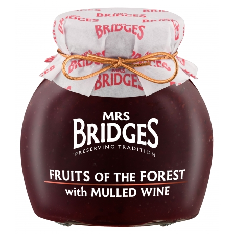 Mrs.Bridges Forest Fruit & Mulled Wine 340g