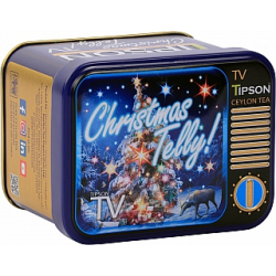 Čaj TIPSON TV Christmas Telly plech 25g