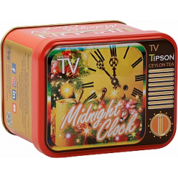 Čaj TIPSON TV Midnight Clock plech 25g