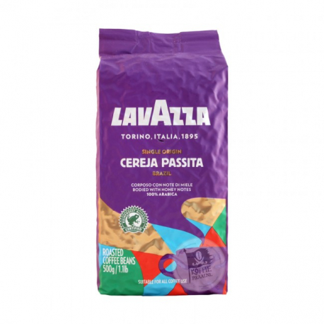 Lavazza single origin brazil zrnková káva 500g