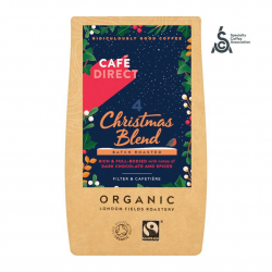 Káva Cafedirect Christmas Blend mletá káva 227g
