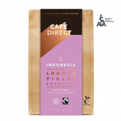CAFÉDIRECT BIO mletá káva Indonesia SCA 83,5 200g