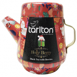 TARLTON Tea Pot Holly Berry Black Tea plech 100g