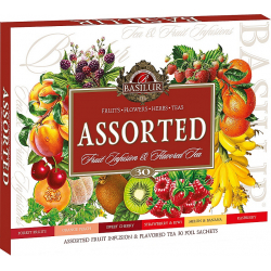 BASILUR Fruit Infusions Assorted  30 ks