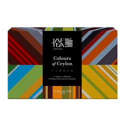 JAFTEA Box Colours of Ceylon Collection  60 ks